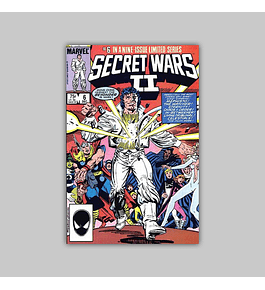 Secret Wars II 6 1985