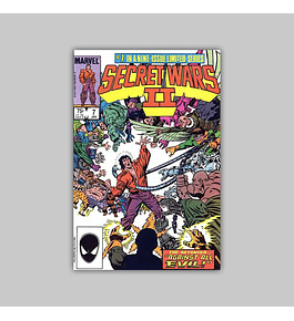 Secret Wars II 7 1986
