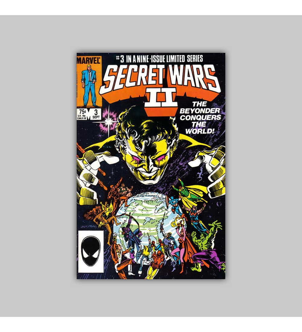 Secret Wars II 3 1985
