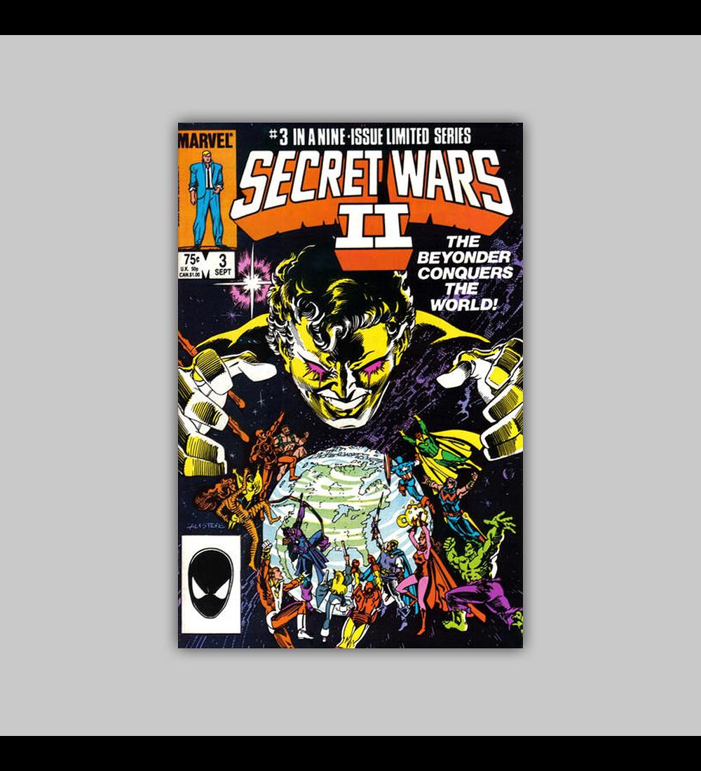 Secret Wars II 3 1985