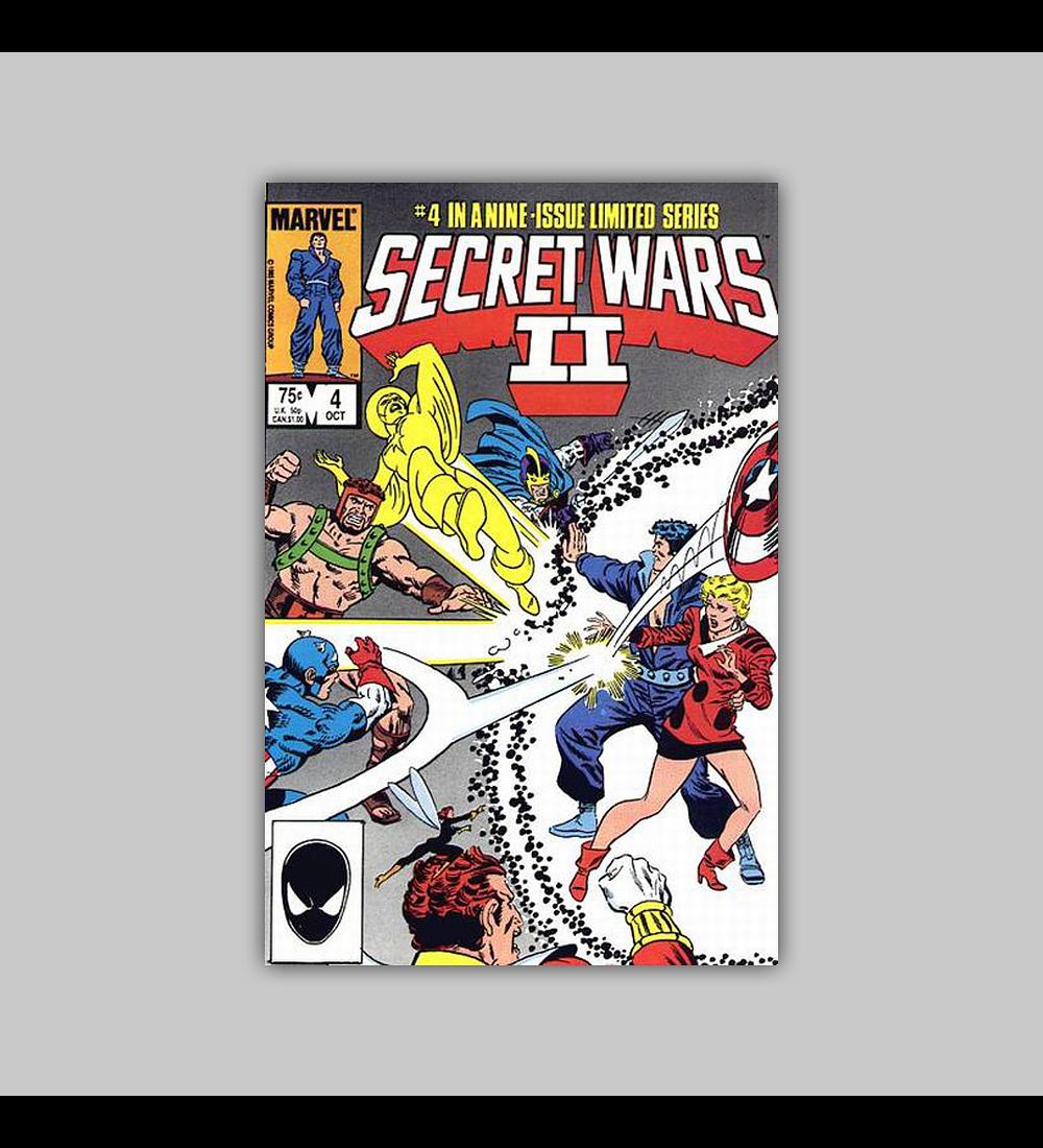 Secret Wars II 4 1985
