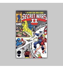 Secret Wars II 4 1985