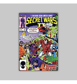 Secret Wars II 5 1985