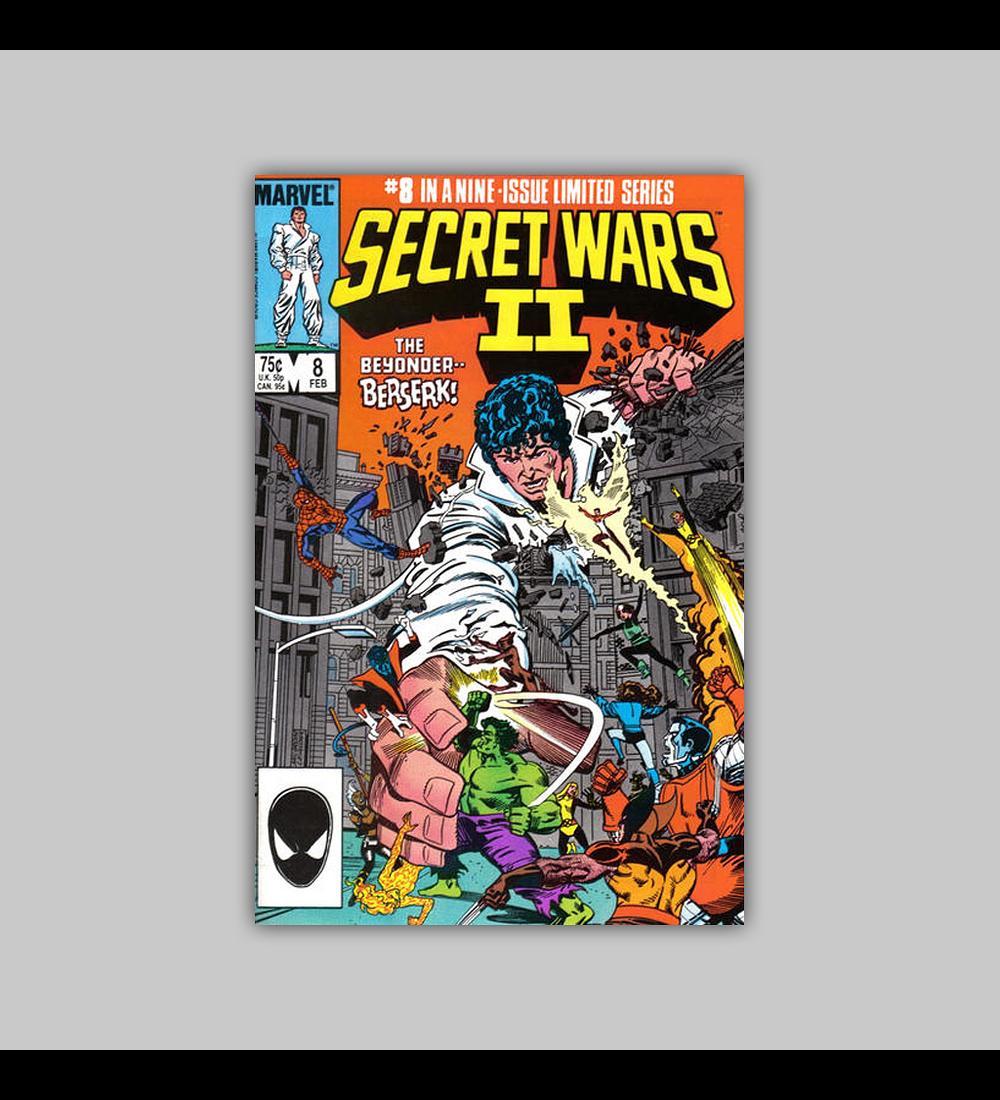 Secret Wars II 8 1985