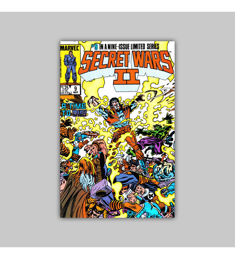 Secret Wars II 9 1985