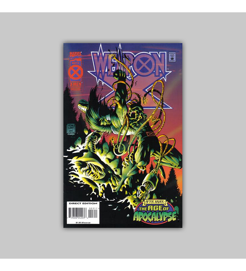 Weapon X 3 1995
