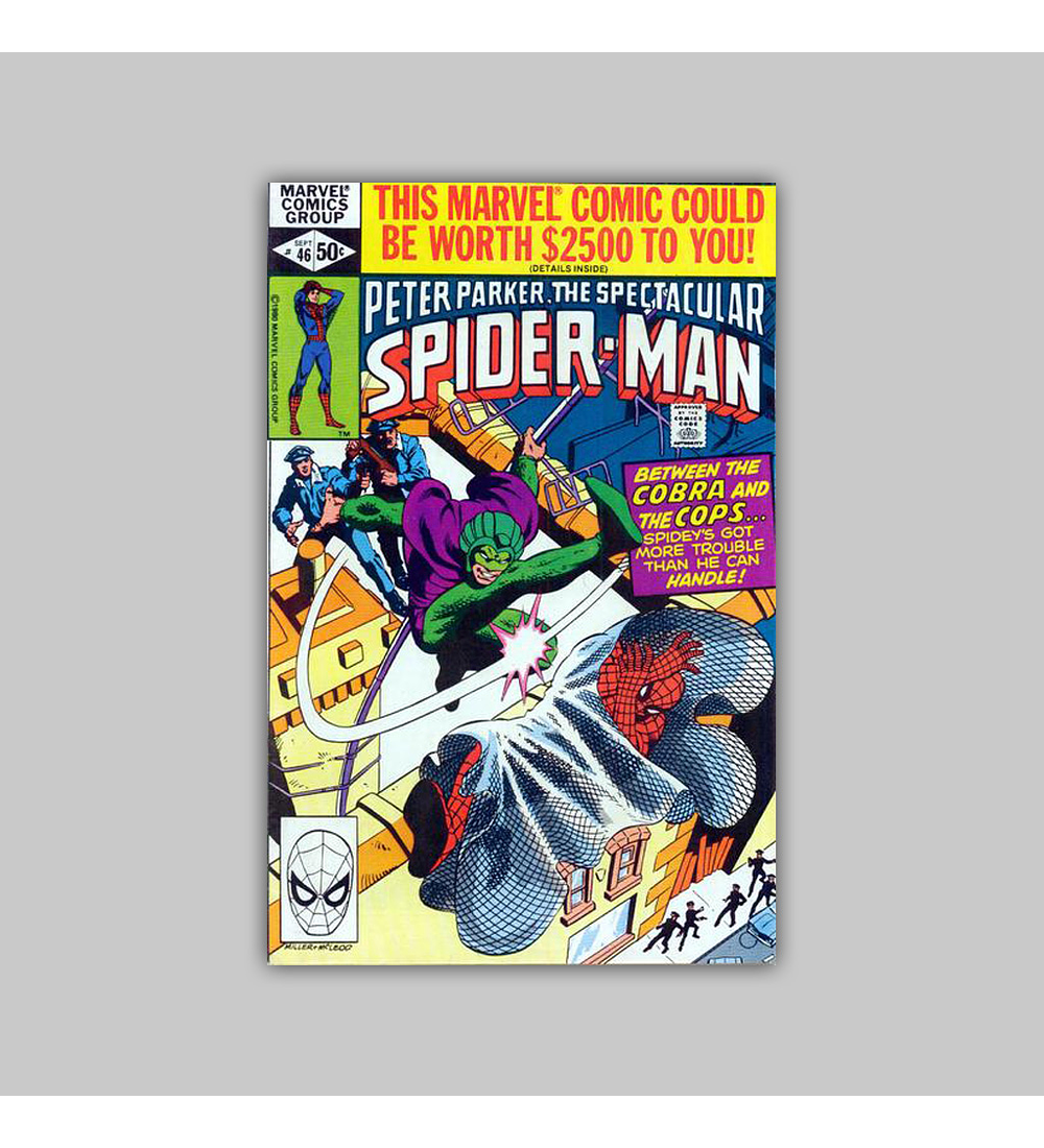 Spectacular Spider-Man 46 1981