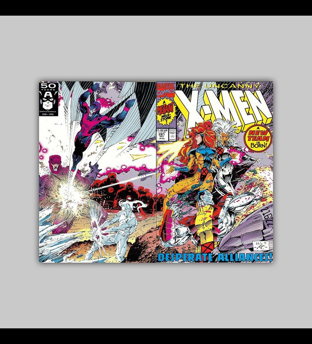 Uncanny X-Men 281 1991