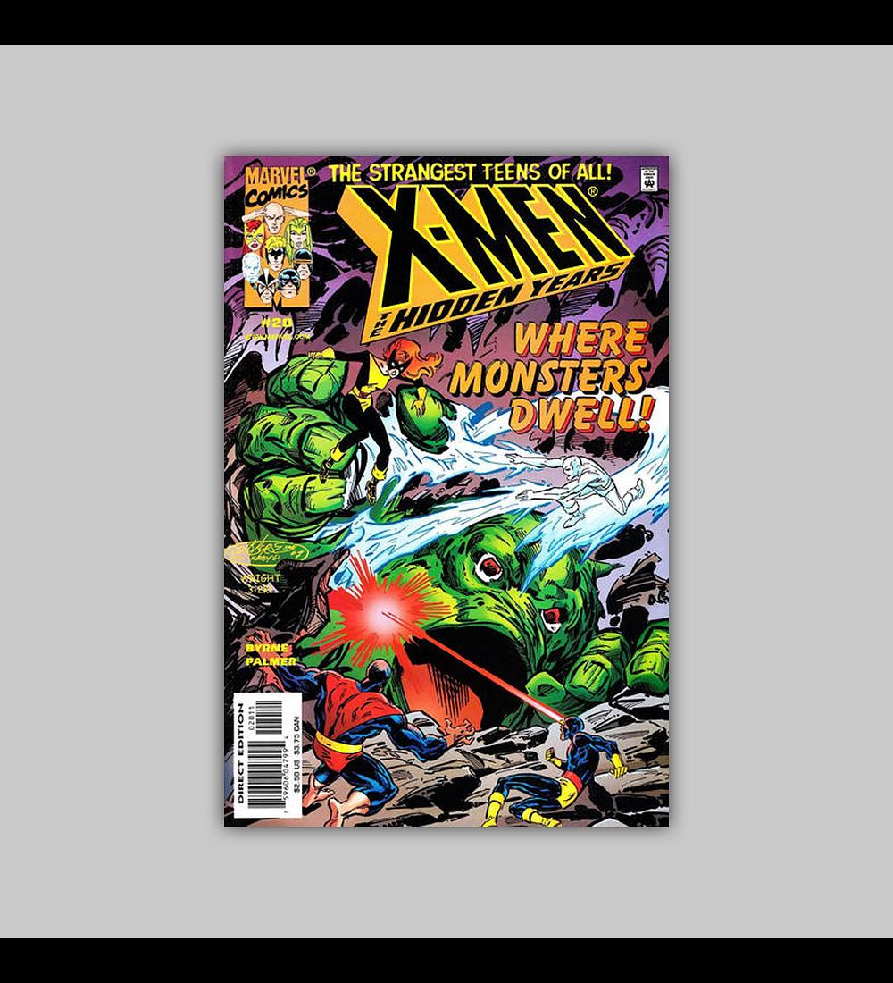 X-Men: The Hidden Years 20 2001