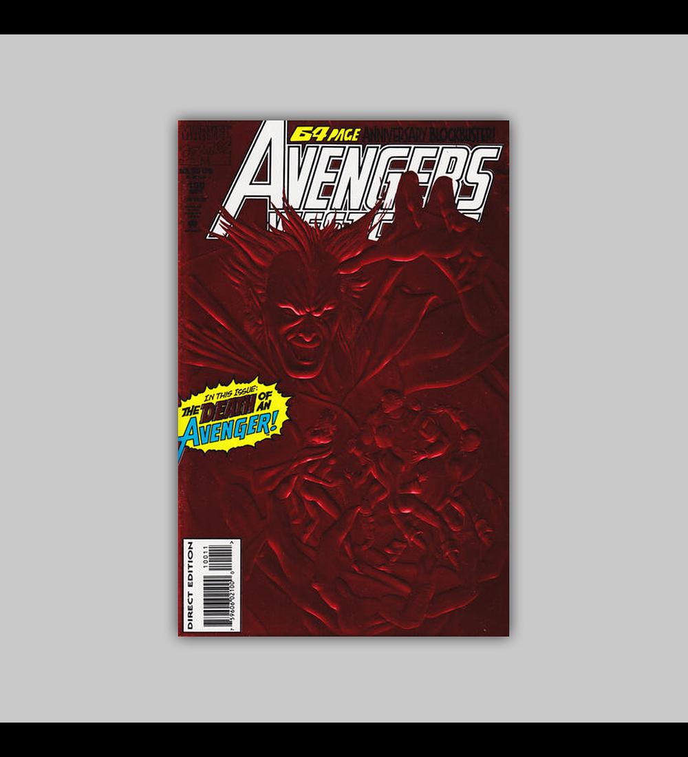Avengers West Coast (Vol. 2) 100 Foil 1993