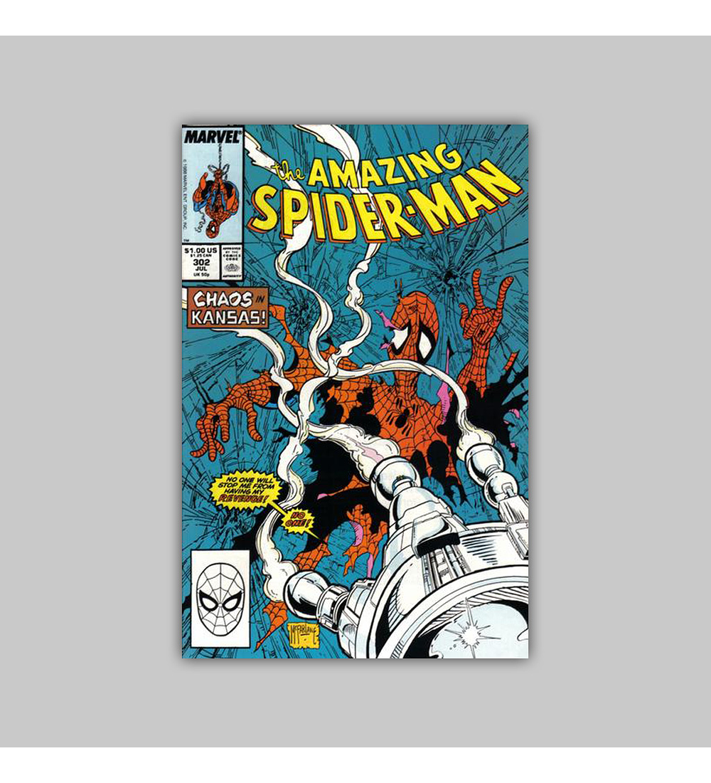 Amazing Spider-Man 302 VF (8.0) 1988