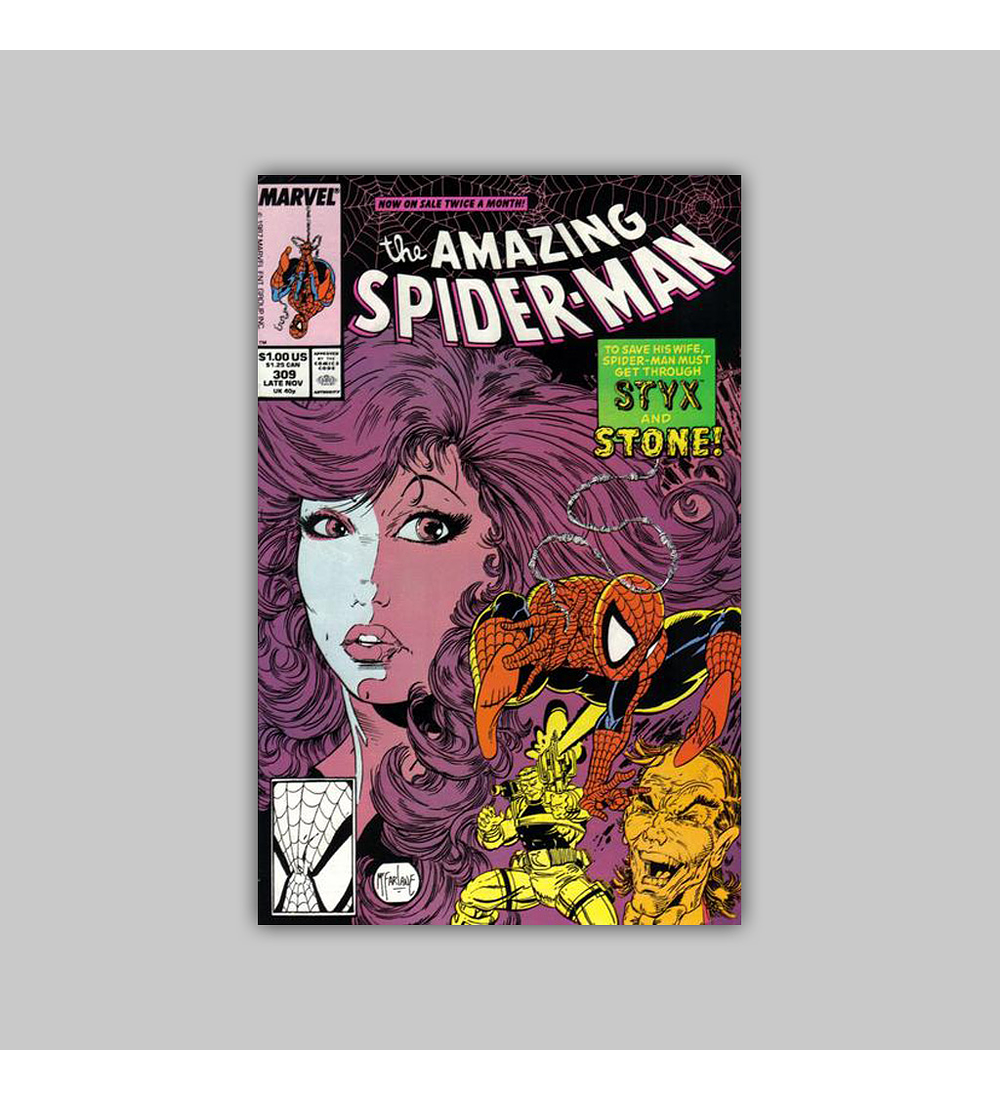 Amazing Spider-Man 309 NM (9.4) 1988
