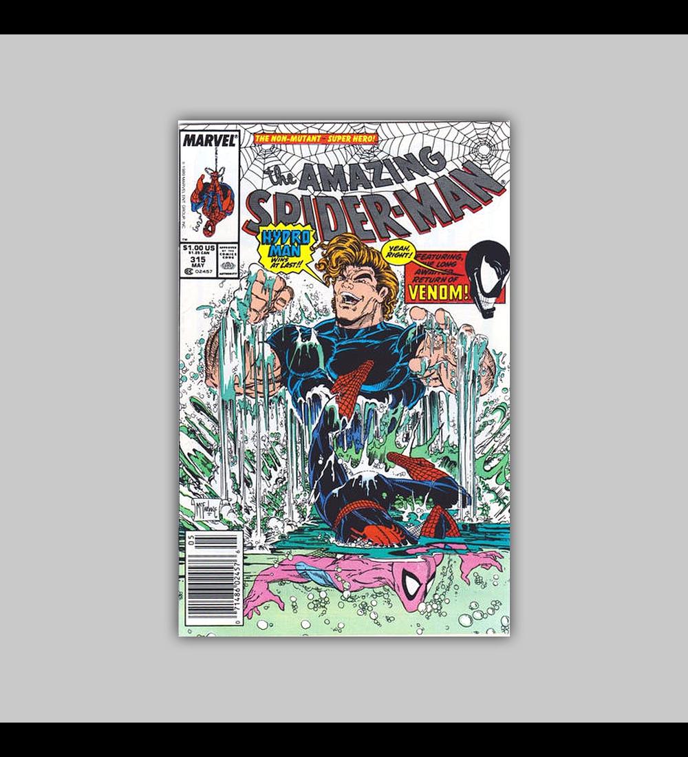 Amazing Spider-Man 315 NM (9.4) 1989