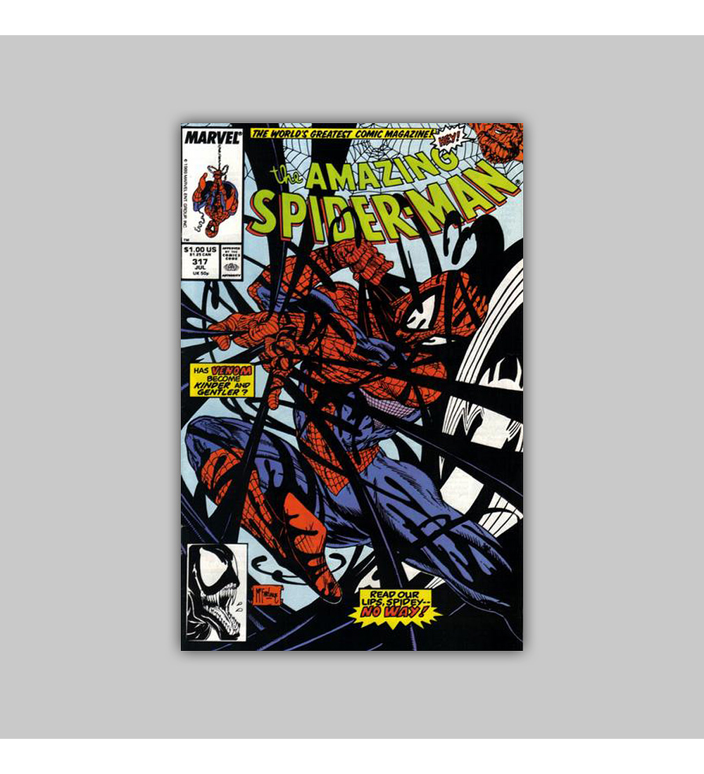 Amazing Spider-Man 317 1989