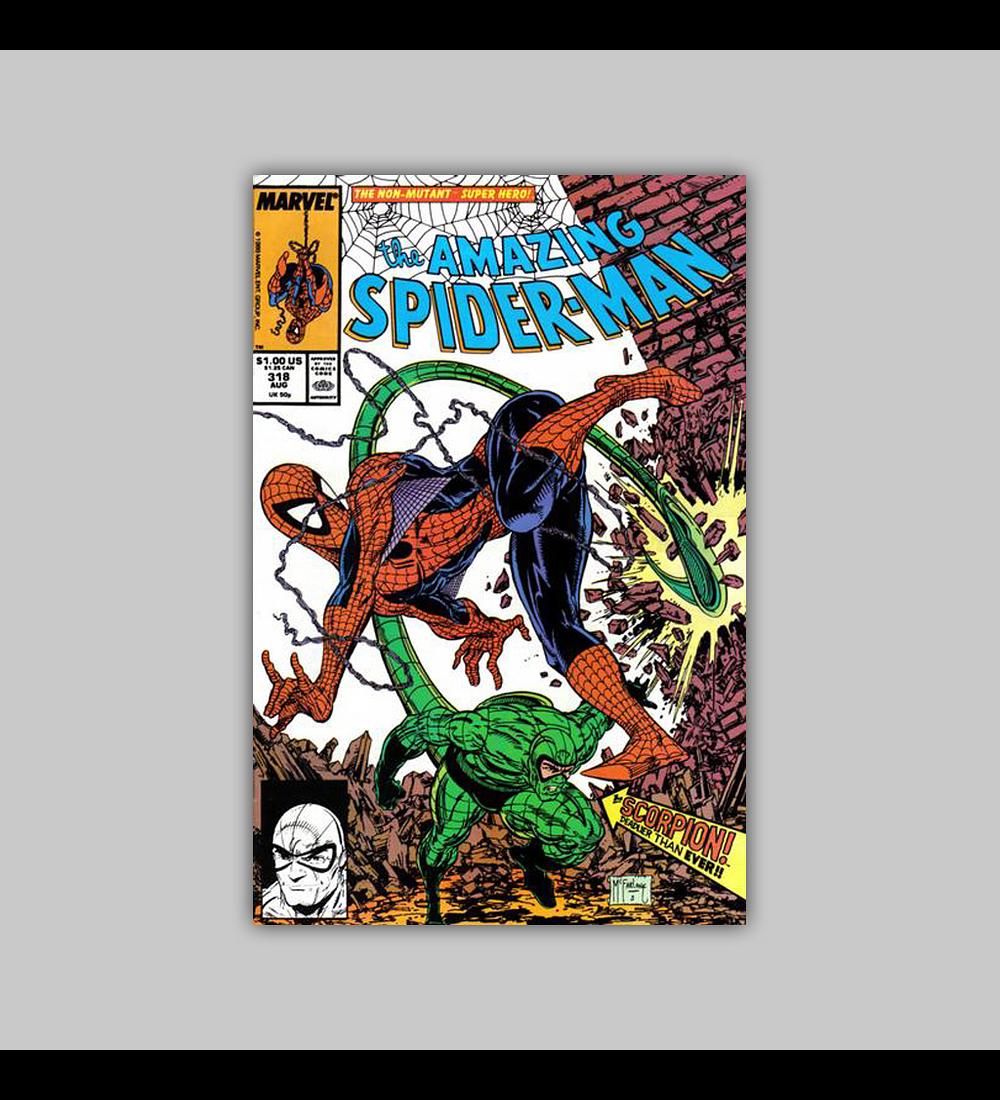 Amazing Spider-Man 318 1989