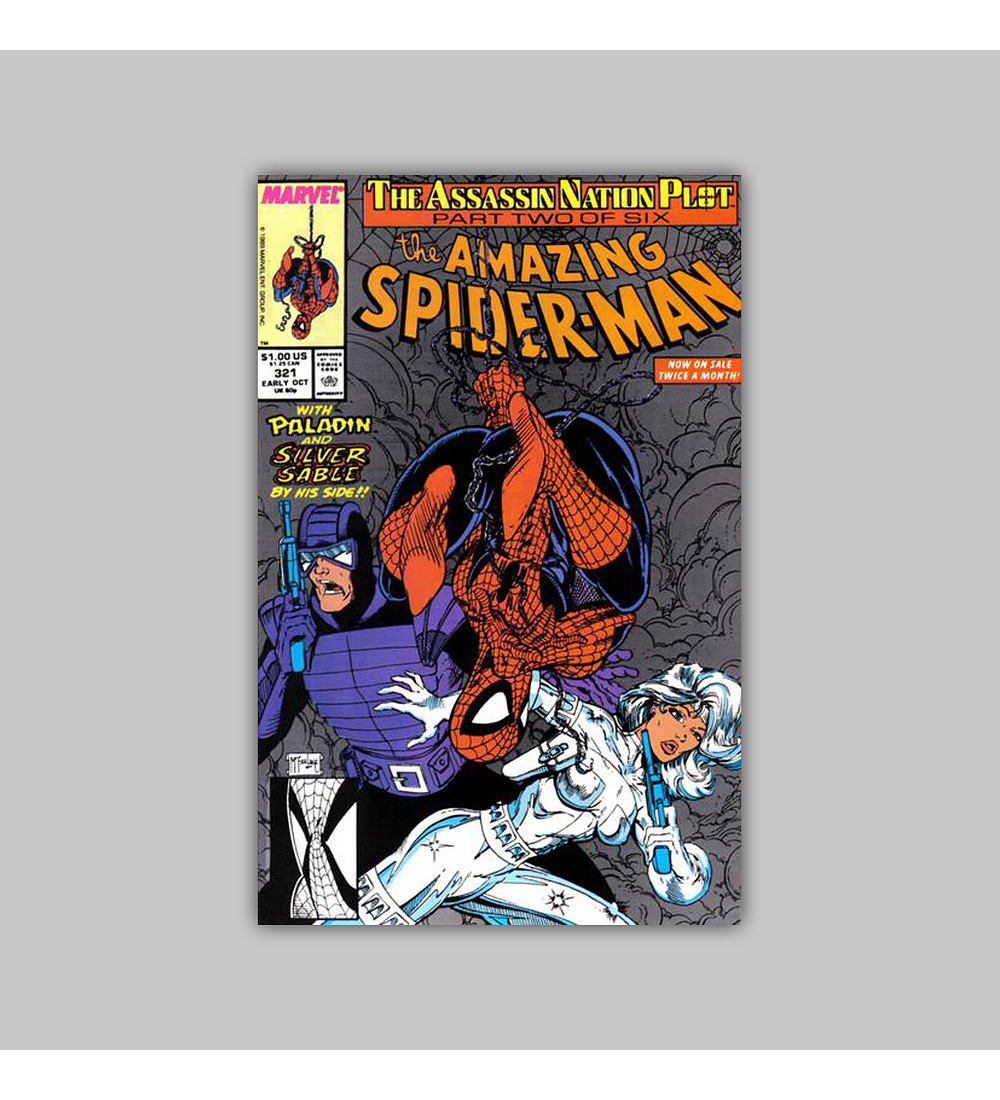 Amazing Spider-Man 321 1989