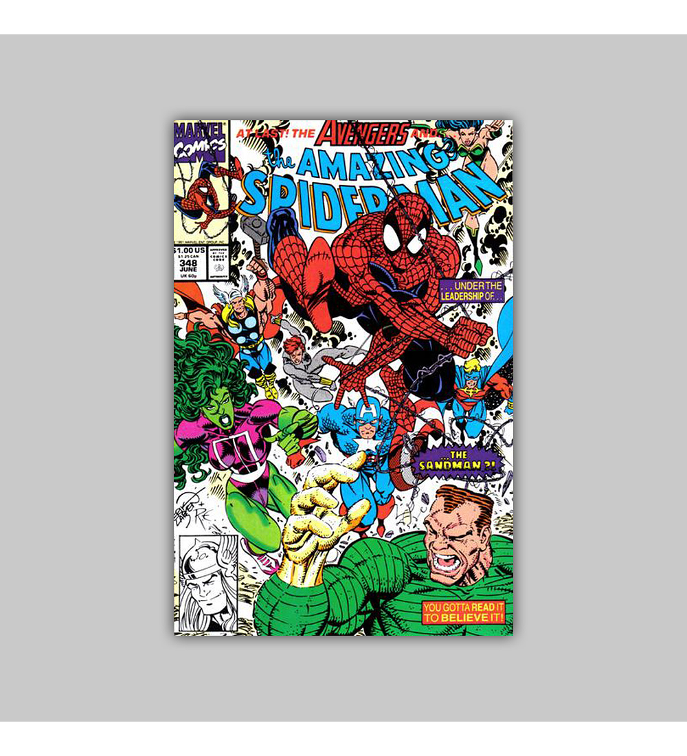 Amazing Spider-Man 348 1991
