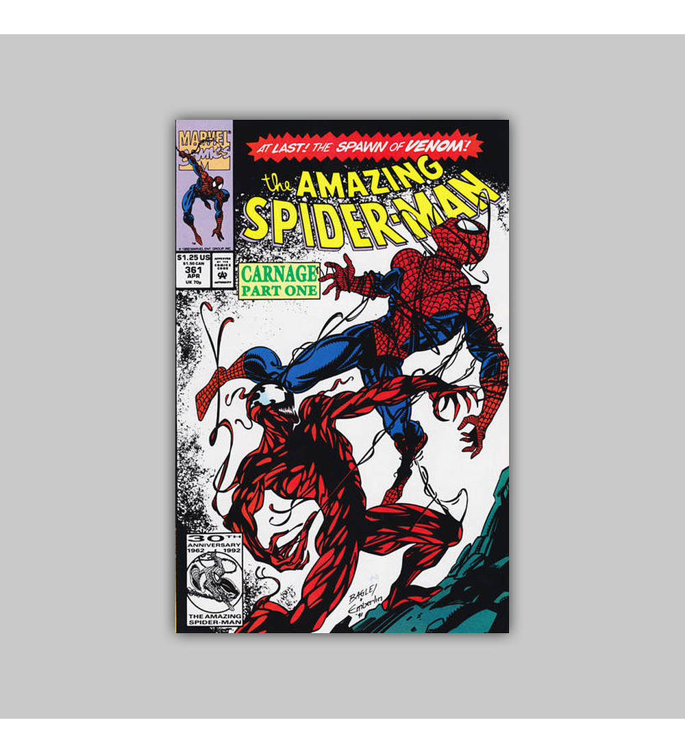 Amazing Spider-Man 361 1992