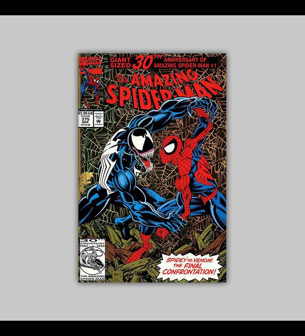 Amazing Spider-Man 375 Foil 1993