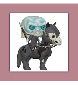 Pop Rides! Game of Thrones Vinyl Figure: Mounted White Walker