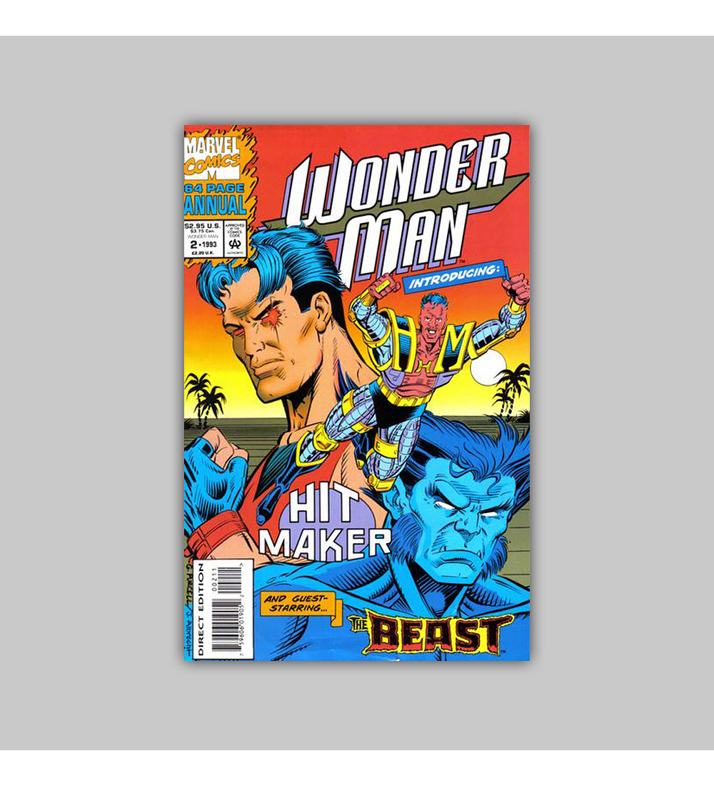 Wonder Man Annual 2 1993