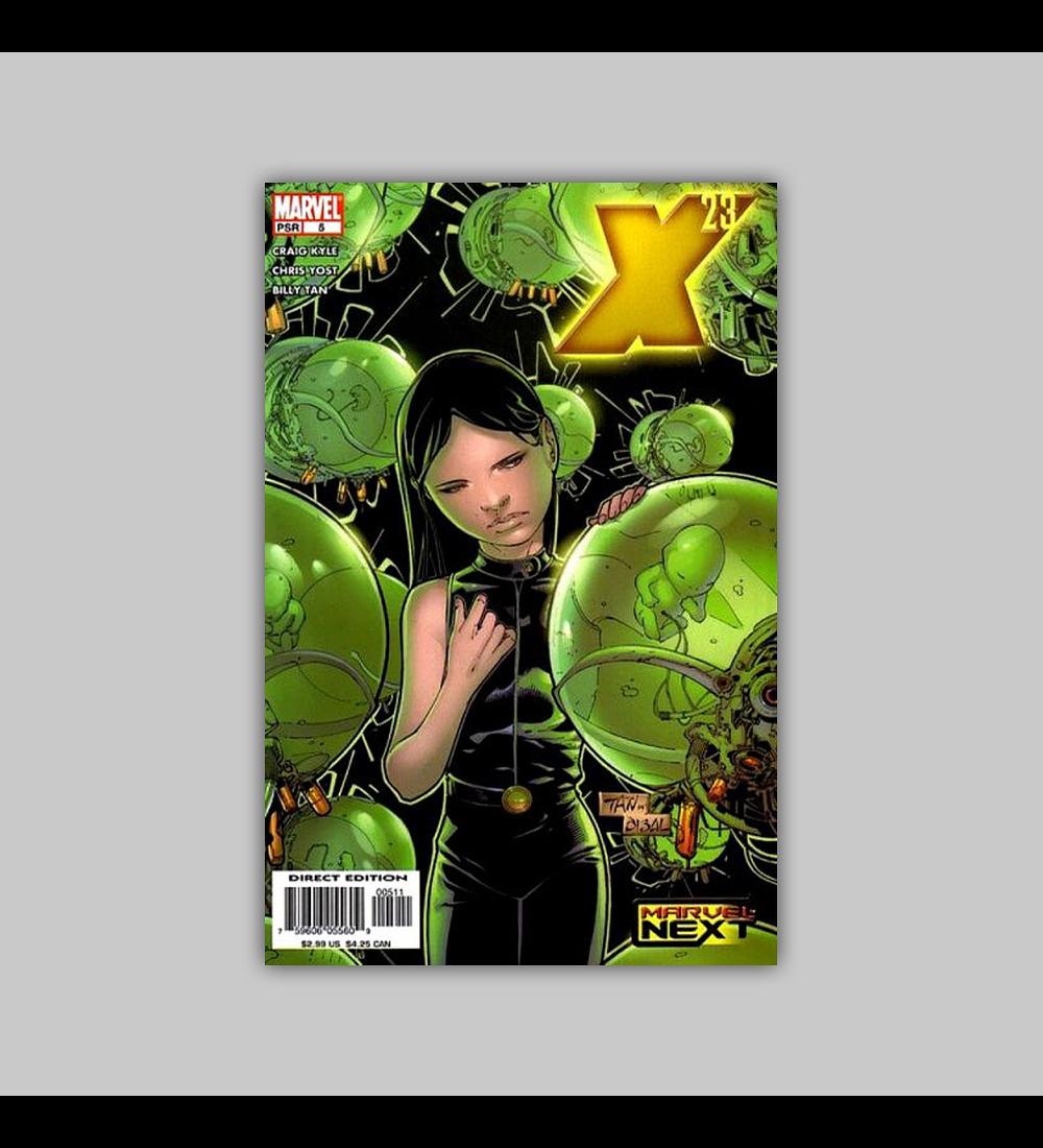 X-23 5 2005