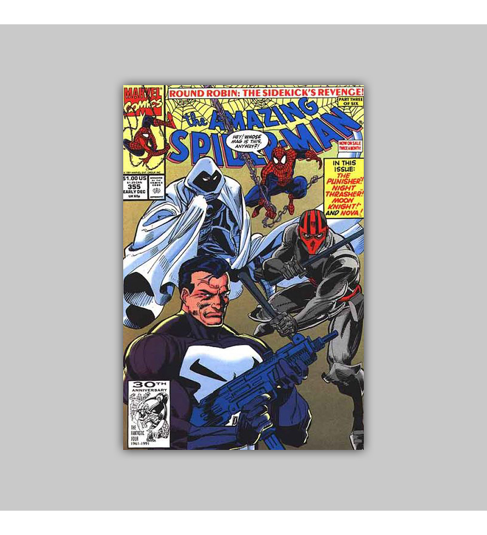 Amazing Spider-Man 355 1991