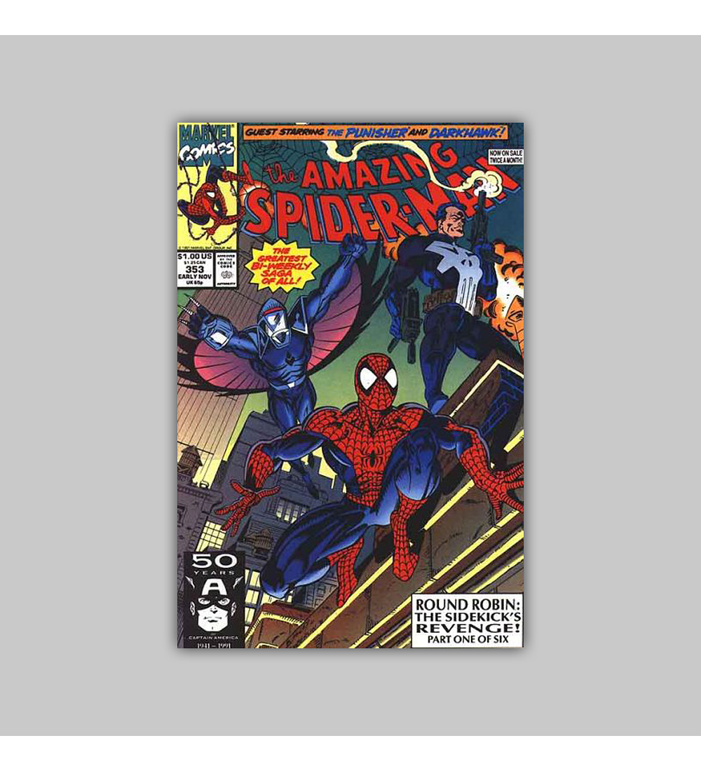 Amazing Spider-Man 353 1991