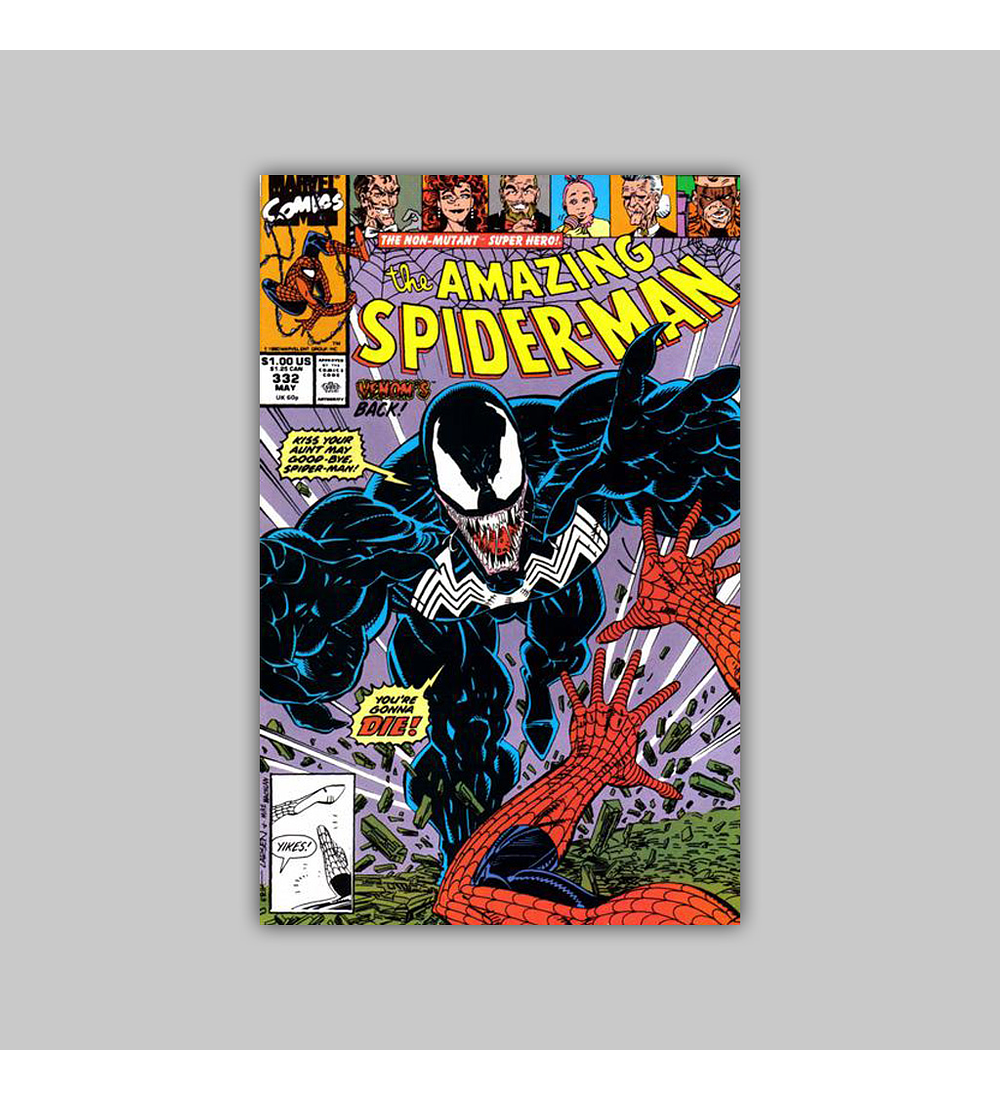 Amazing Spider-Man 332 1990