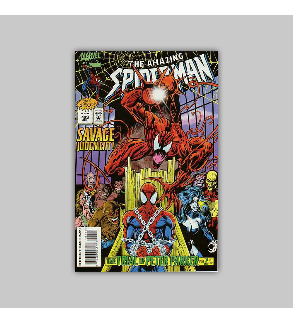 Amazing Spider-Man 403 1995