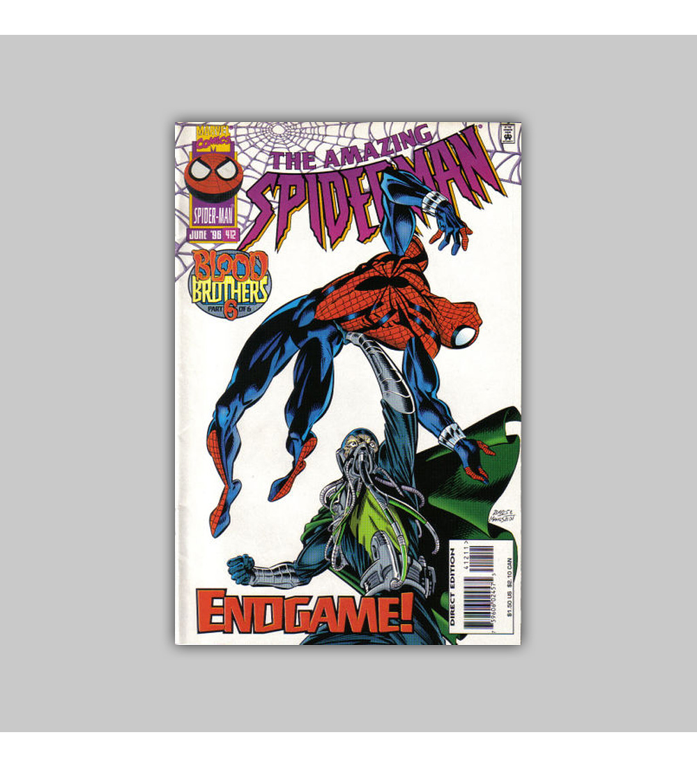 Amazing Spider-Man 412 1996