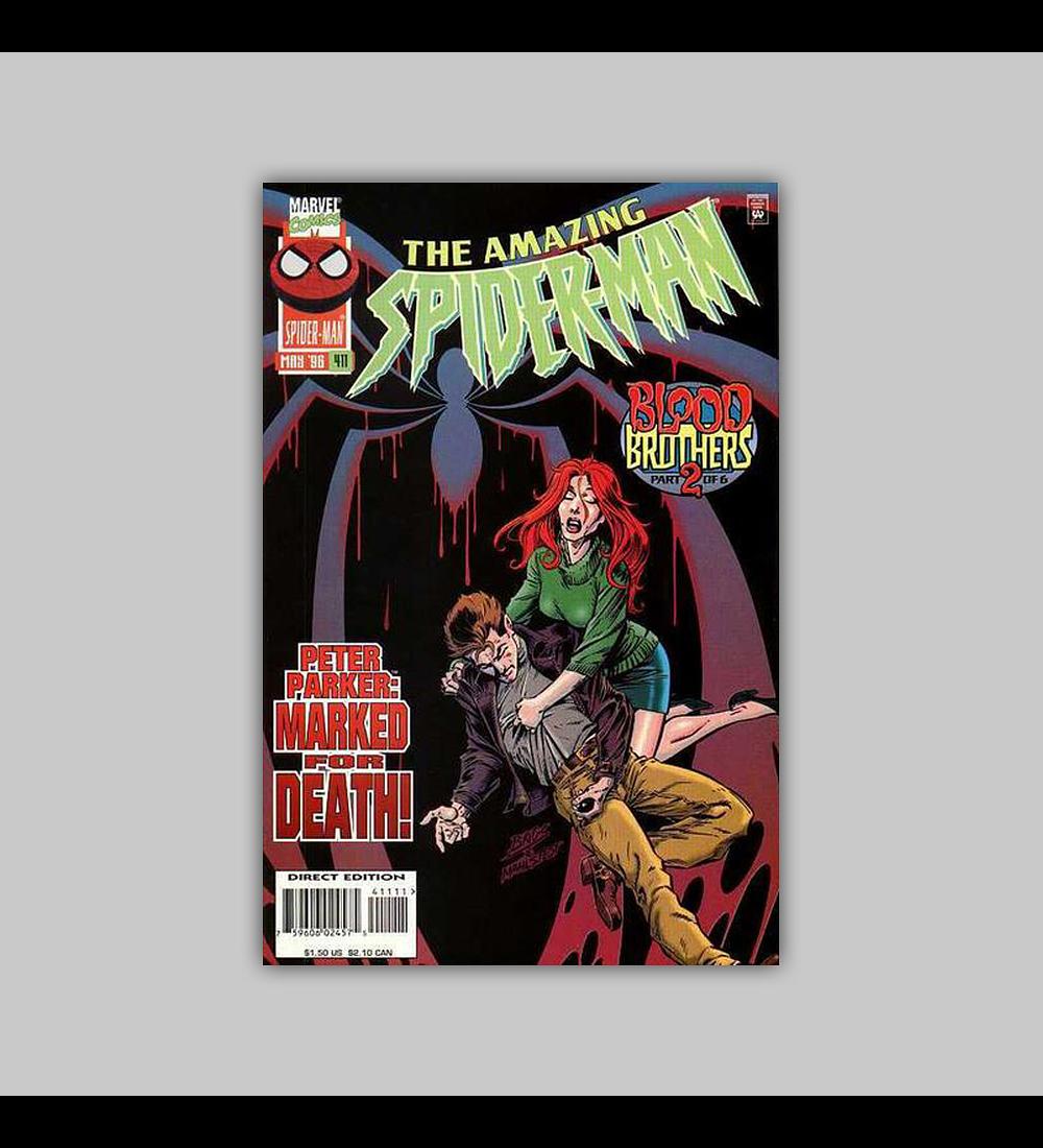 Amazing Spider-Man 411 1996