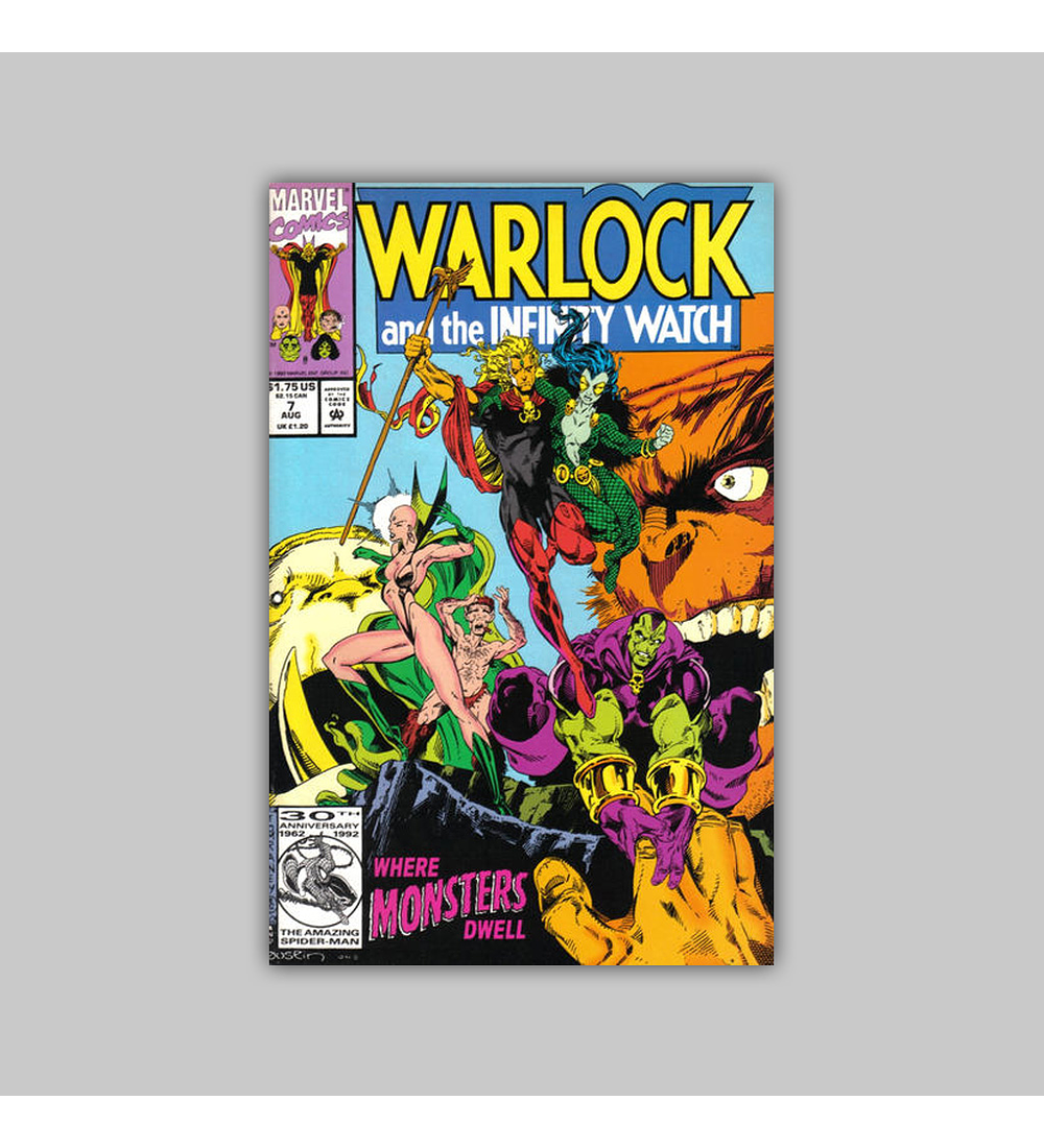 Warlock and the Infinity Watch 7 1992