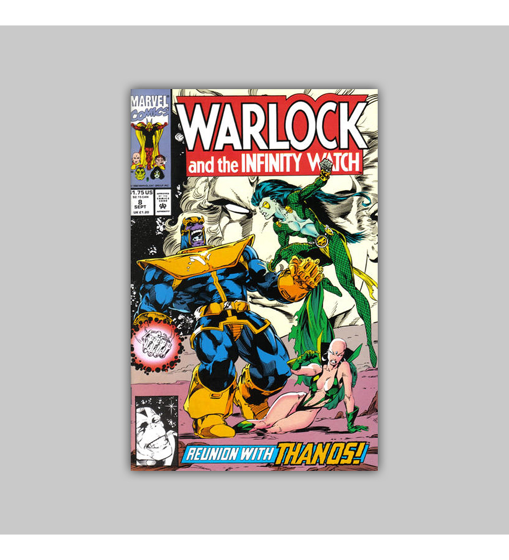 Warlock and the Infinity Watch 8 1992