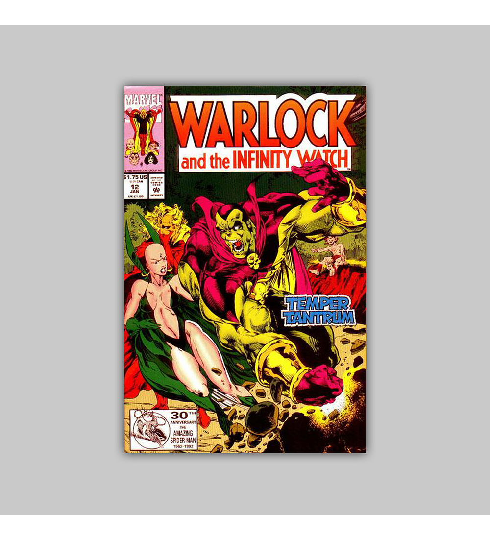 Warlock and the Infinity Watch 12 1993