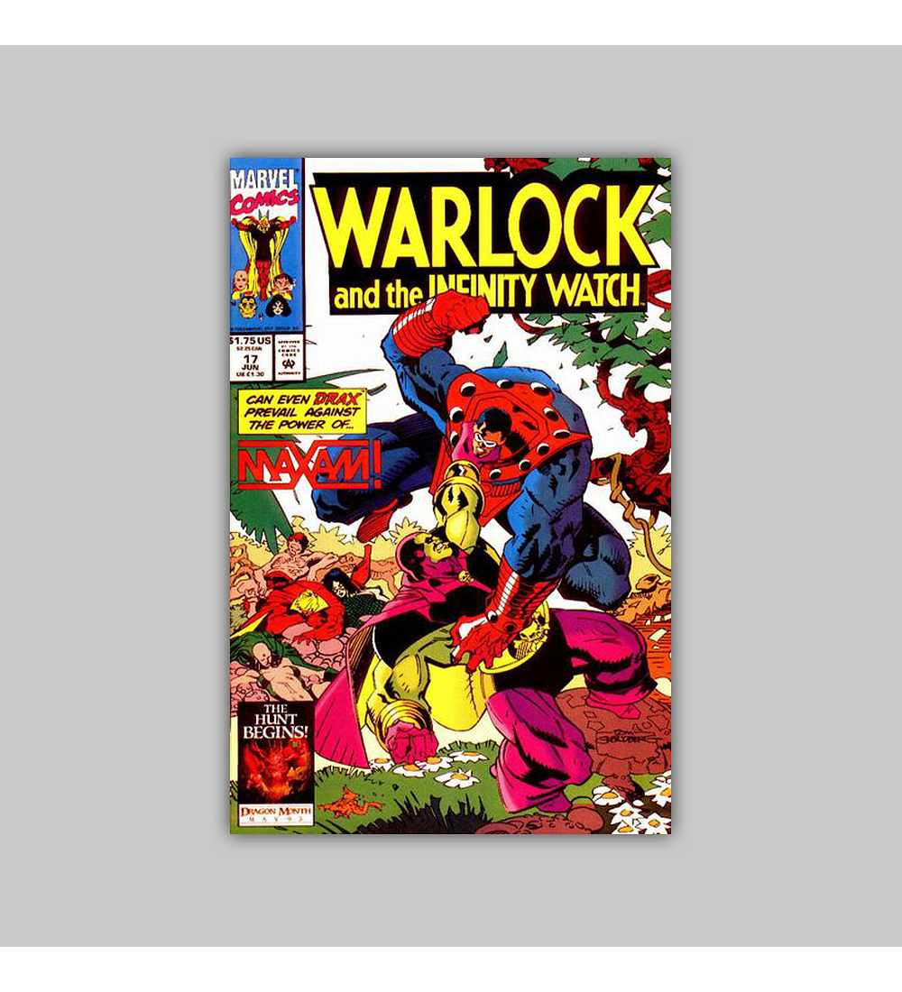 Warlock and the Infinity Watch 17 1993
