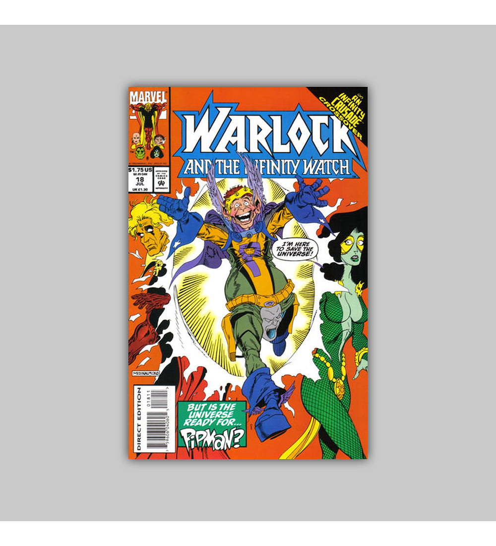 Warlock and the Infinity Watch 18 1993