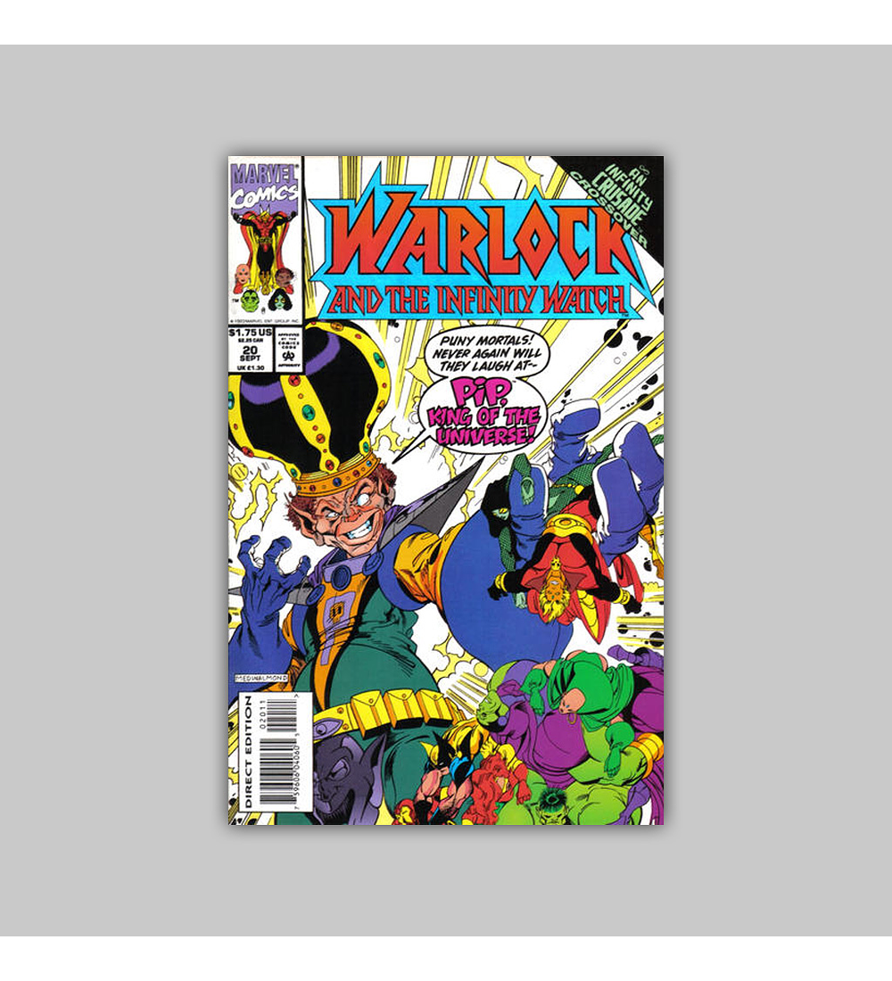 Warlock and the Infinity Watch 20 1993