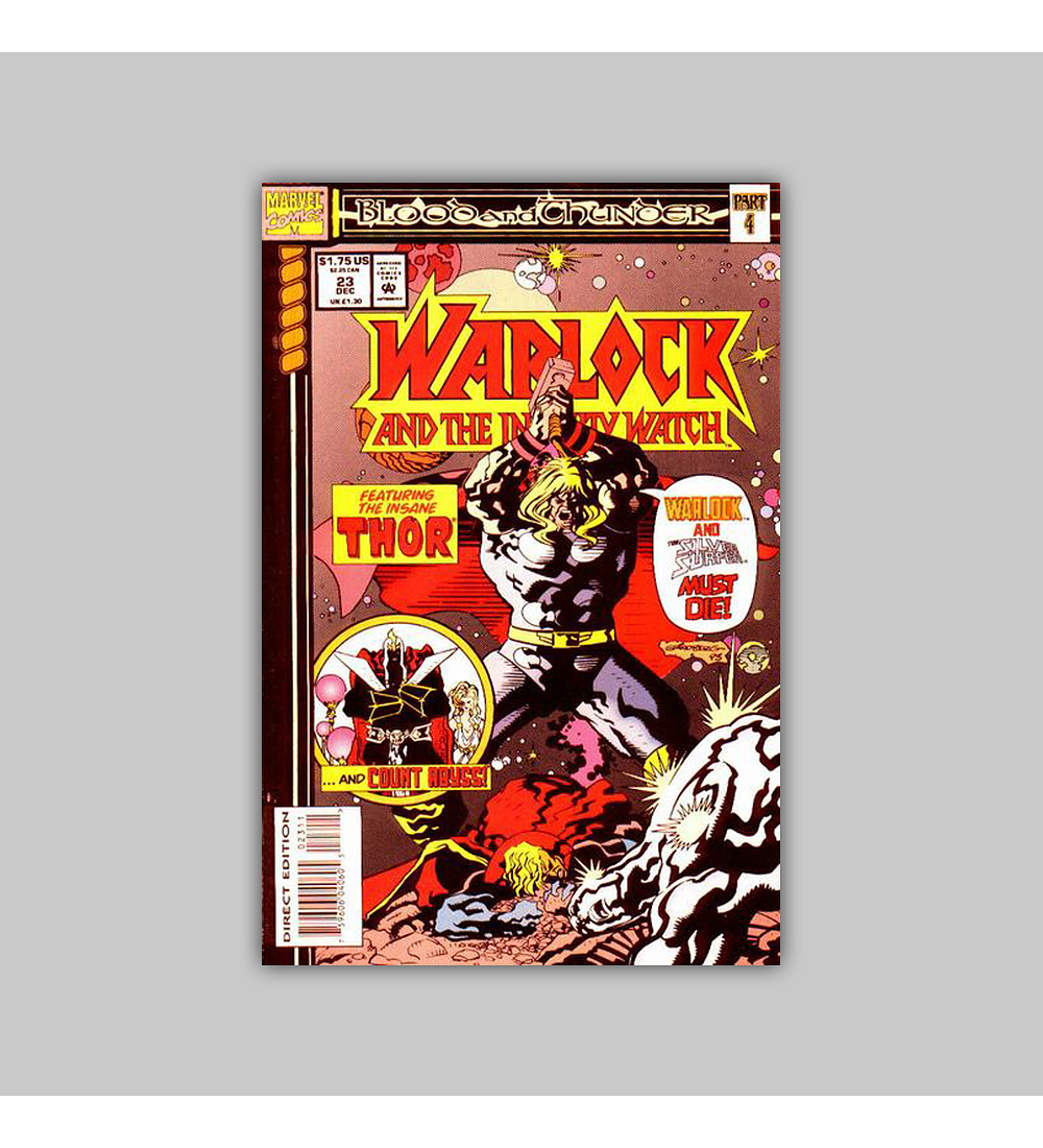 Warlock and the Infinity Watch 23 1993