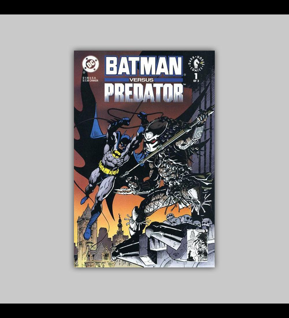 Batman Versus Predator 1 1991
