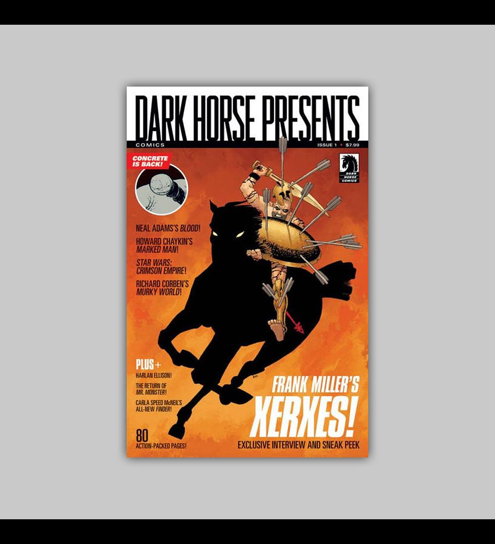 Dark Horse Presents (Vol. 2) 1 B 2011