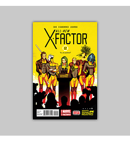 All-New X-Factor 12 2014