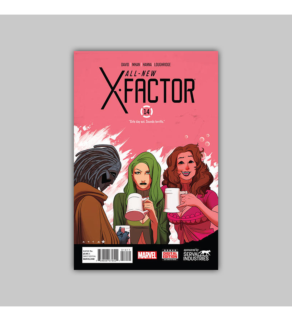 All-New X-Factor 14 2014