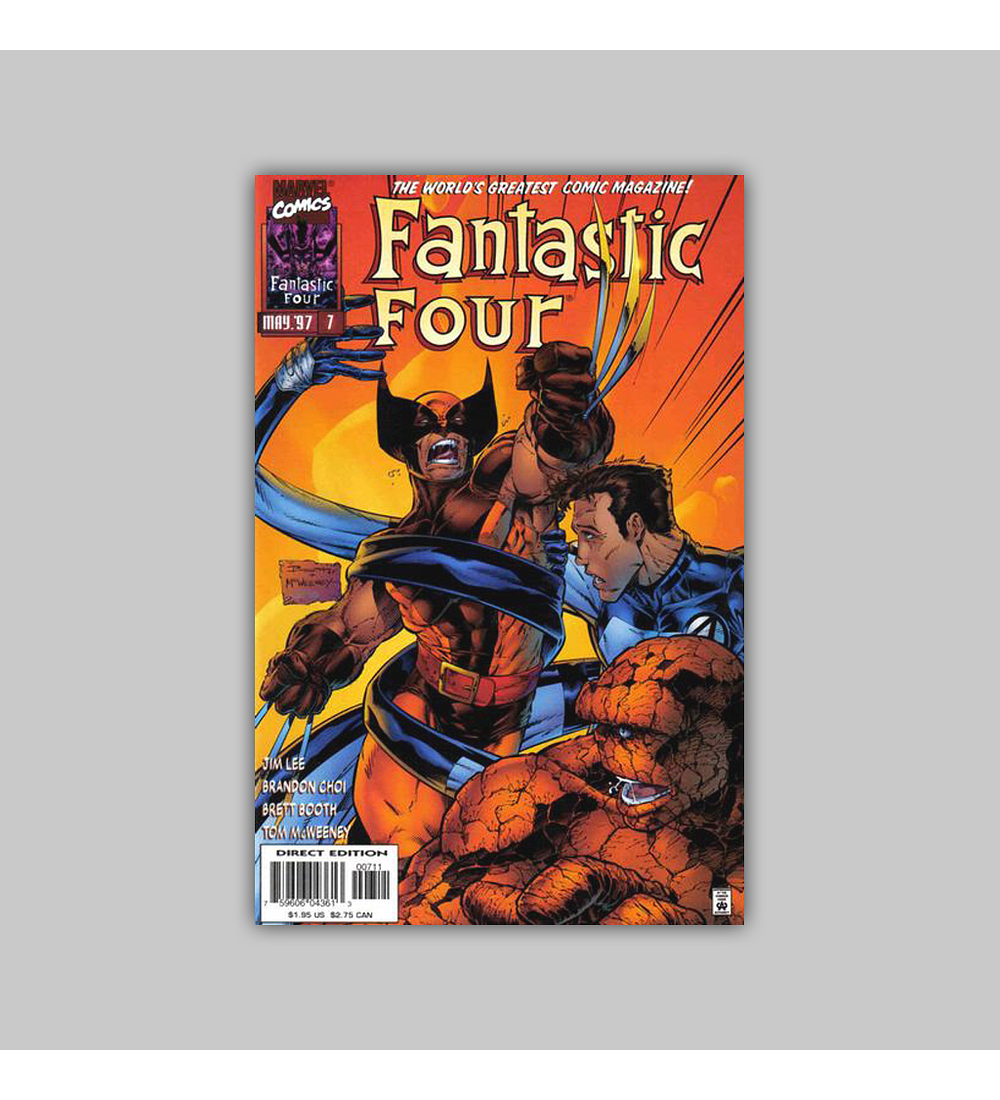 Fantastic Four (Vol. 2) 7 VF (8.0) 1997