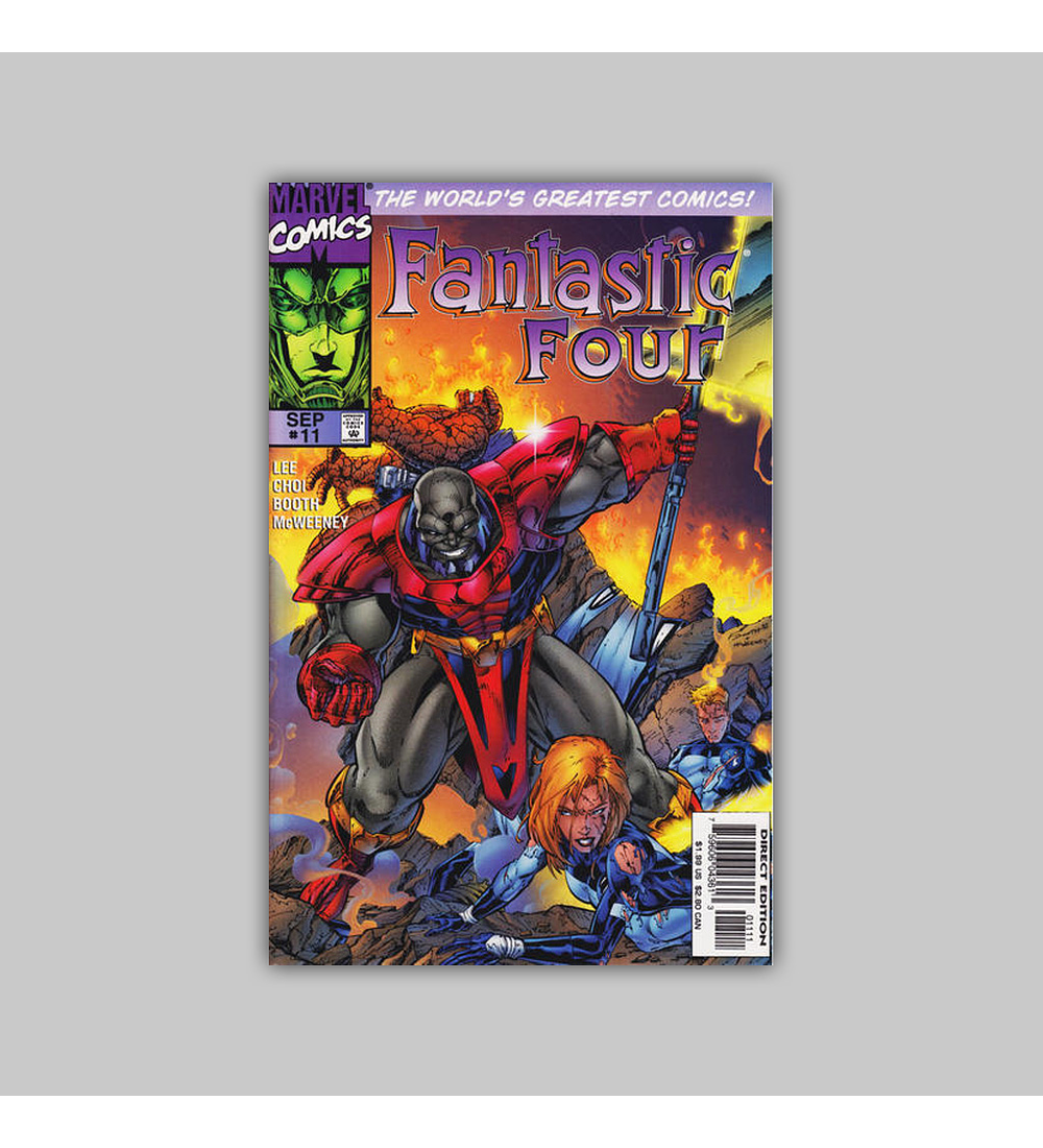 Fantastic Four (Vol. 2) 11 1997