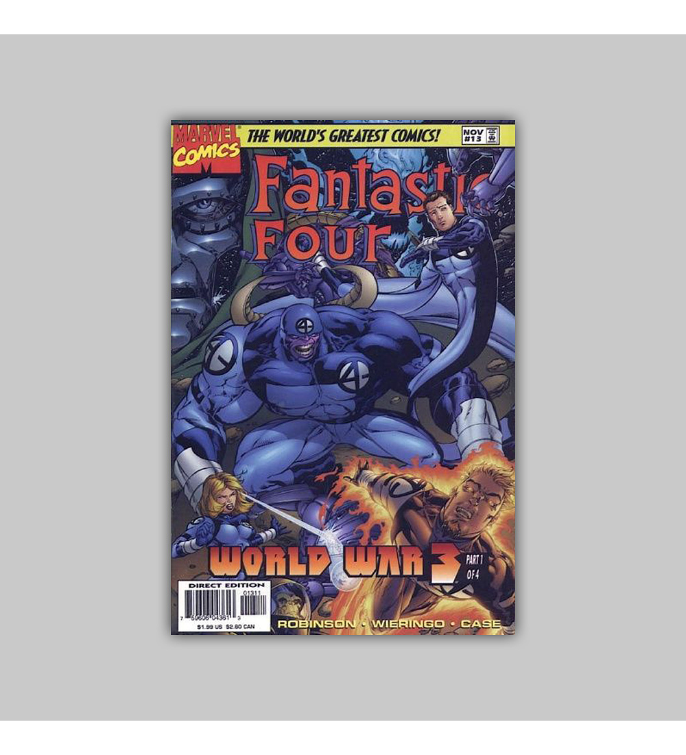 Fantastic Four (Vol. 2) 13 1997