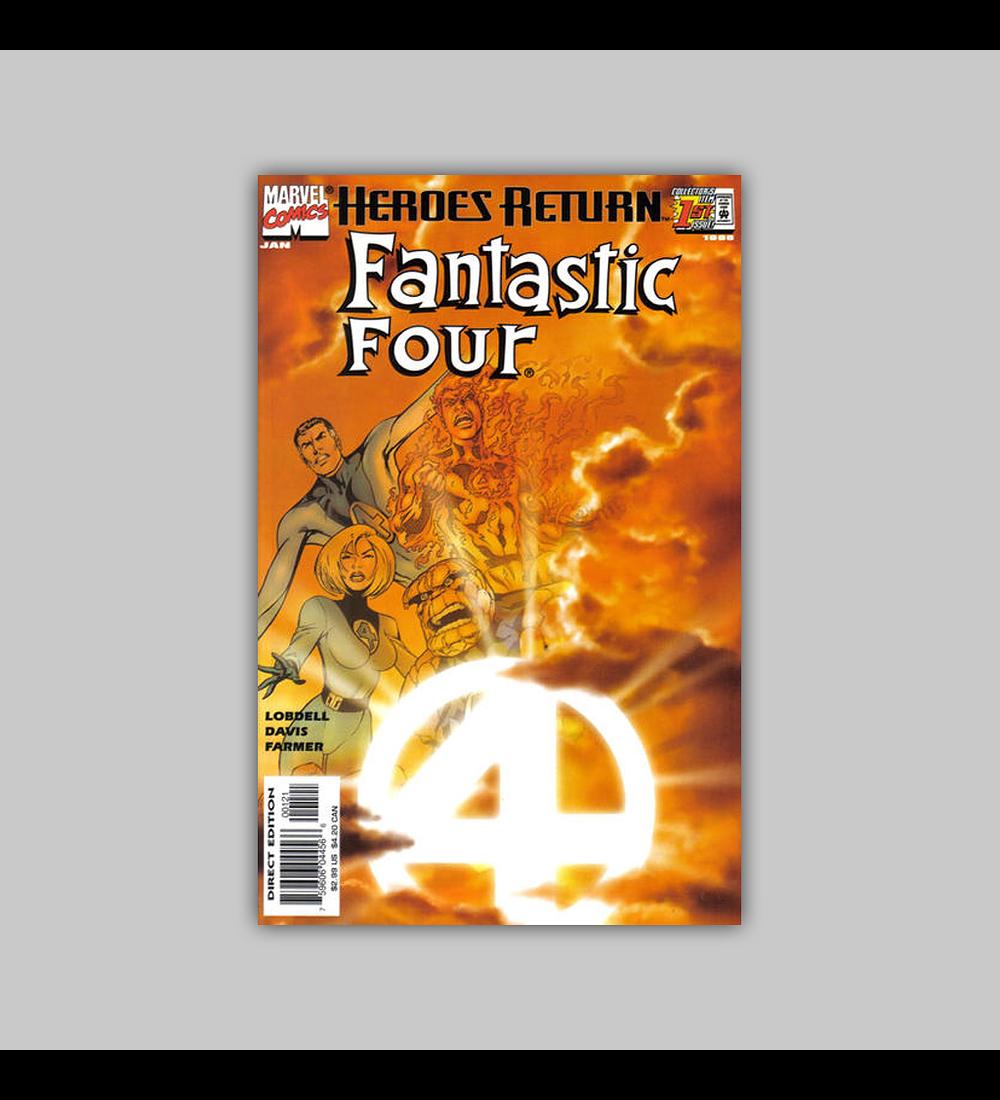 Fantastic Four (Vol. 3) 1 B 1998