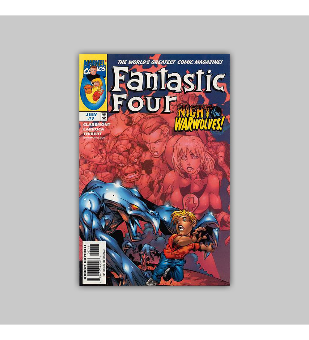 Fantastic Four (Vol. 3) 7 1998