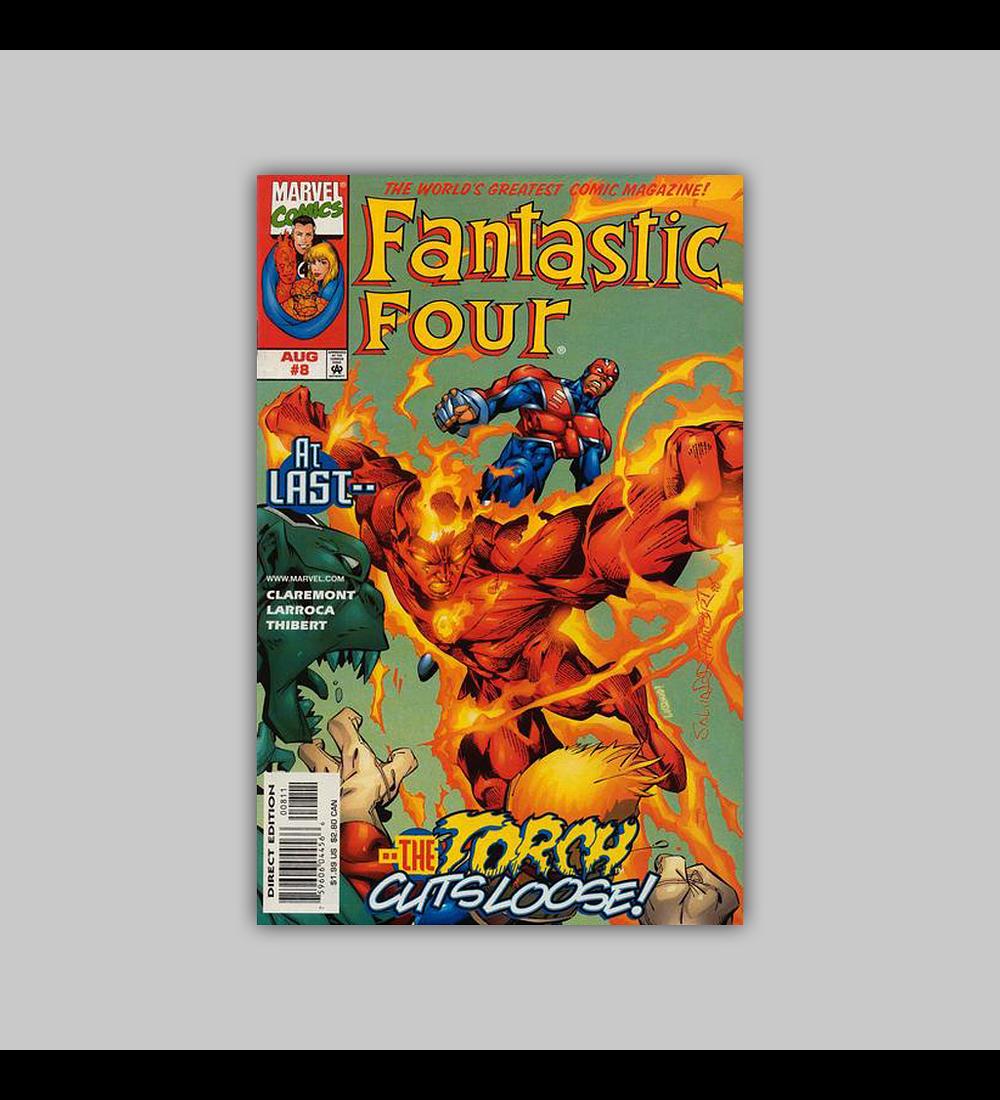 Fantastic Four (Vol. 3) 8 1998