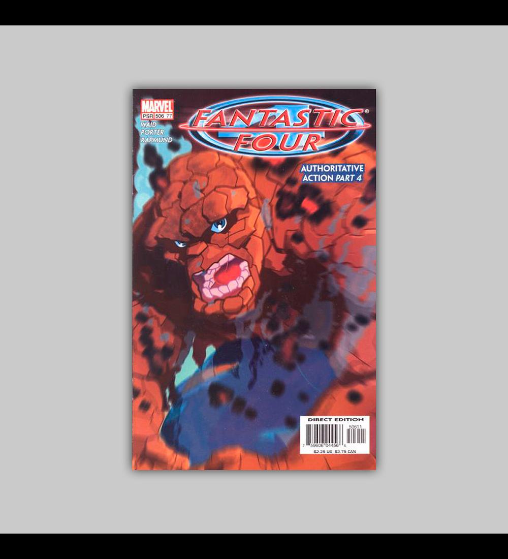 Fantastic Four (Vol. 3) 77 2004